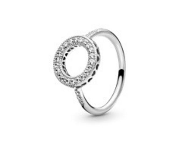 Sparkling Halo Ring offer at £65