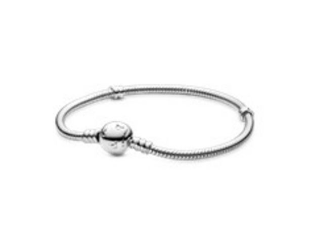 Disney, Pandora Moments Sparkling Mickey Mouse Snake Chain Bracelet offer at £70