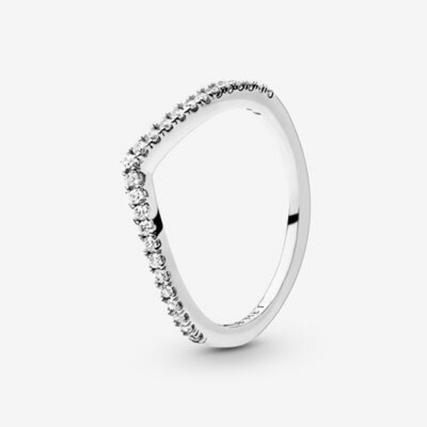 Sparkling Wishbone Ring offer at £35
