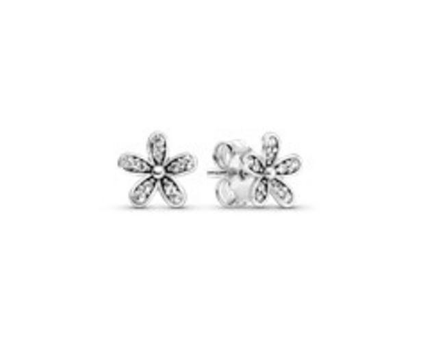 Sparkling Daisy Flower Stud Earrings offer at £45