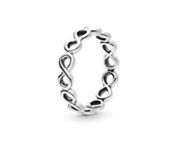 Simple Infinity Band Ring offer at £35