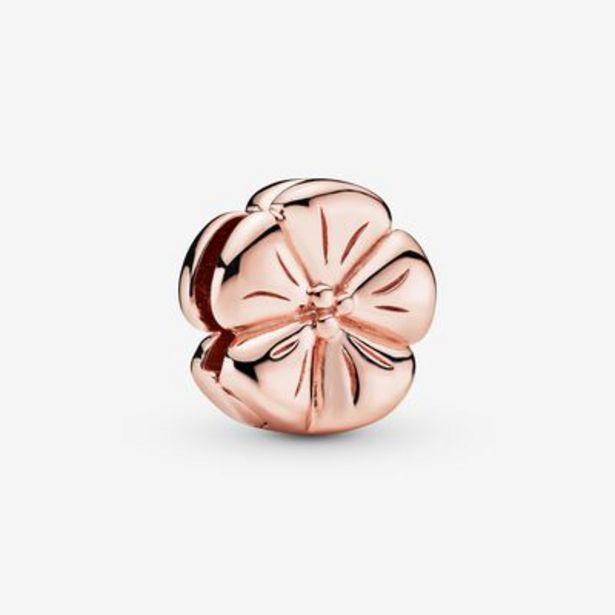 Polished Flower Clip Charm offer at £35