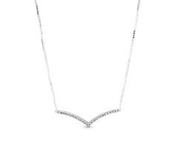 Sparkling Wishbone Necklace offer at £70