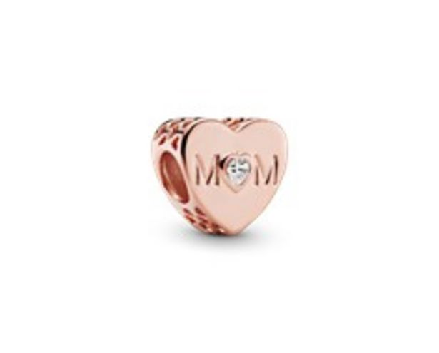 Clear Mum Heart Charm offer at £45