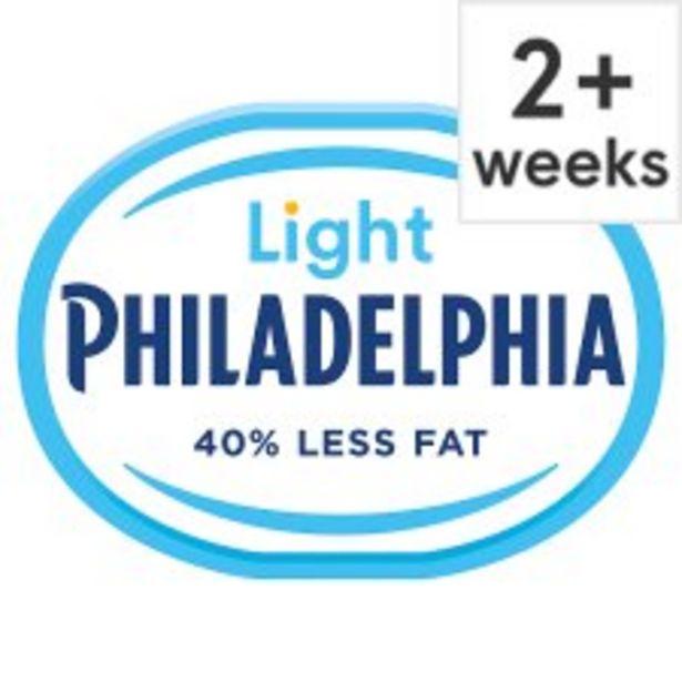 Philadelphia Light Soft Cheese 180 G offer at £1