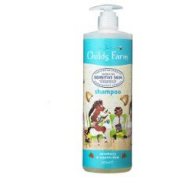 Childs Farm Strawberry & Organic Mint Shampoo 500Ml offer at £6