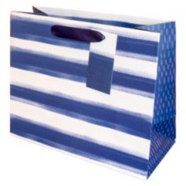 Tesco Santorini Striped Bag Medium offer at £1.25