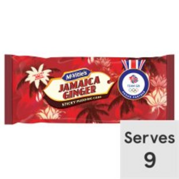 Mcvities Jamaica Ginger Cake offer at £1.35