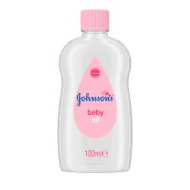 Johnson's Baby Oil 100Ml offer at £1.5