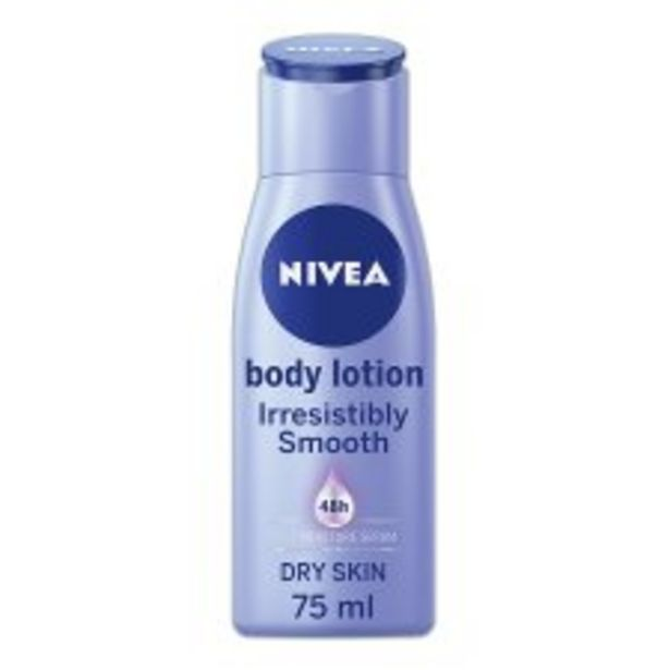 Nivea Body Irresisibly Smooth 75Ml offer at £1.5