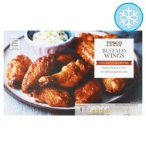 Tesco American Buffalo Chicken Wings 500G offer at £2