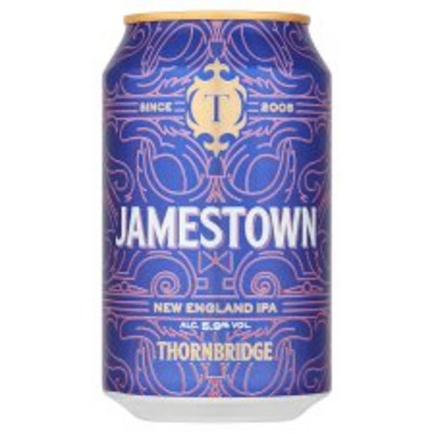 Jamestown New England Ipa 330Ml offer at £1.8
