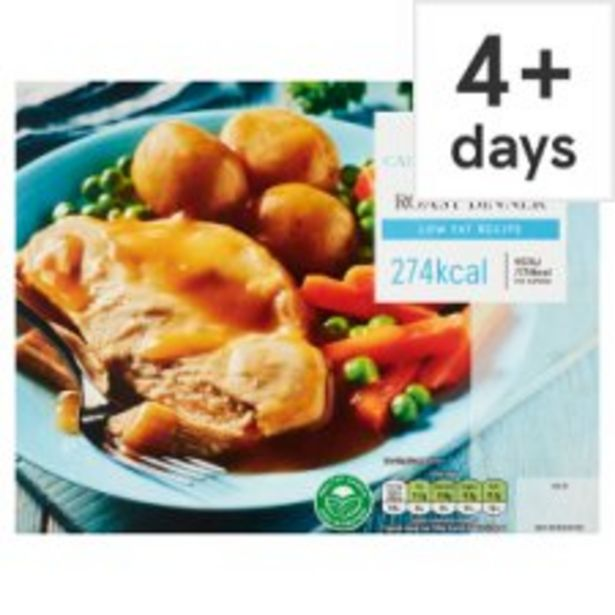 Tesco Chicken Low Calorie Roast Dinner 400G offer at £2.5
