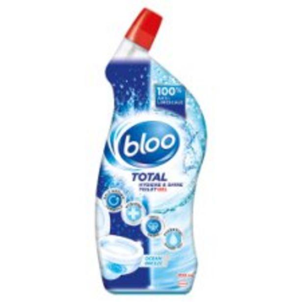 Bloo Total Shine & Hygiene Toilet Gel Ocean Breeze offer at £1