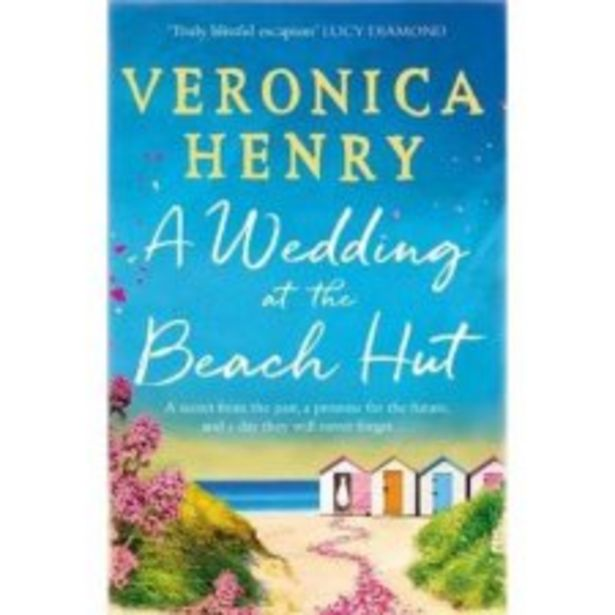 A Wedding At The Beach Hut Veronica Henry offer at £4.5