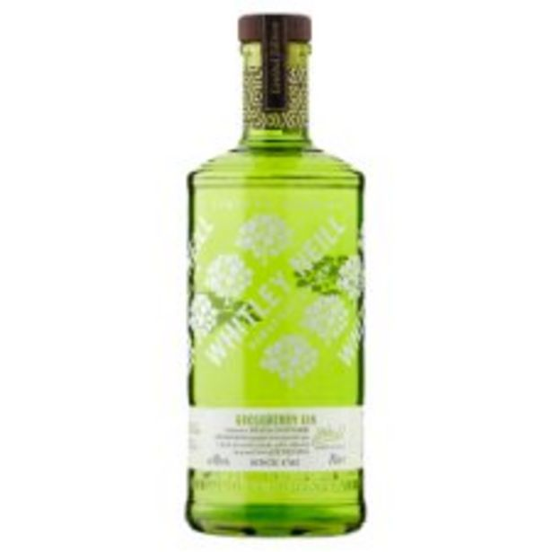 Whitley Neill Gooseberry Gin 70Cl offer at £20