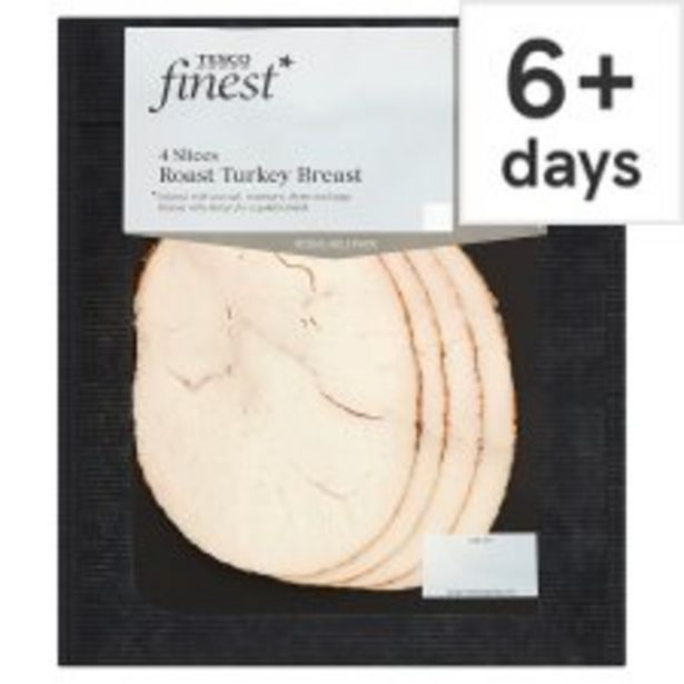 Tesco Finest Basted Turkey Breast 125G offer at £2