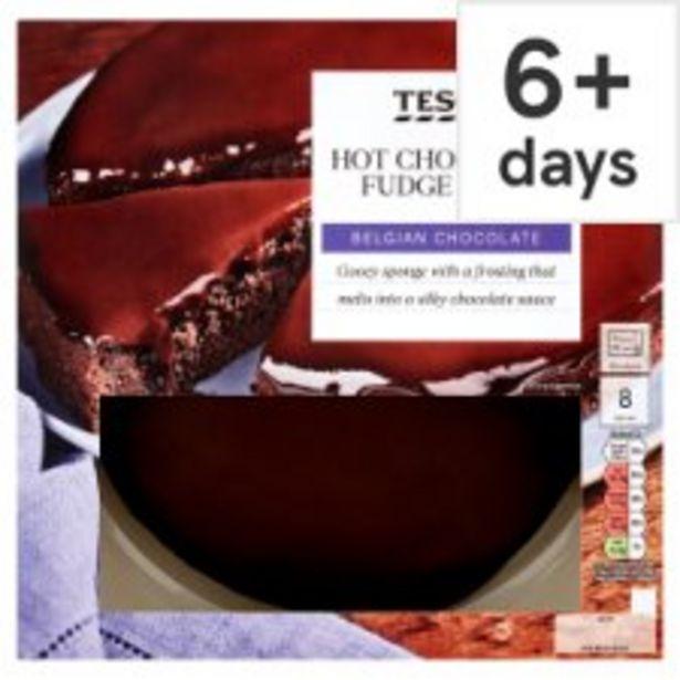Tesco Hot Chocolate Fudge Cake 700G offer at £2.75
