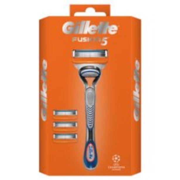Gillette Fusion Manual Starter Pack offer at £9