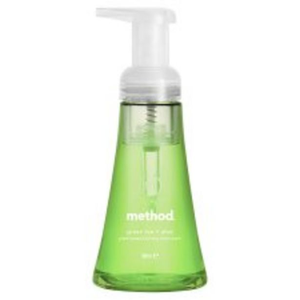 Method Foaming Handwash Green Tea 300Ml offer at £3