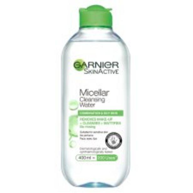 Garnier Micellar Water Combination 400Ml offer at £3