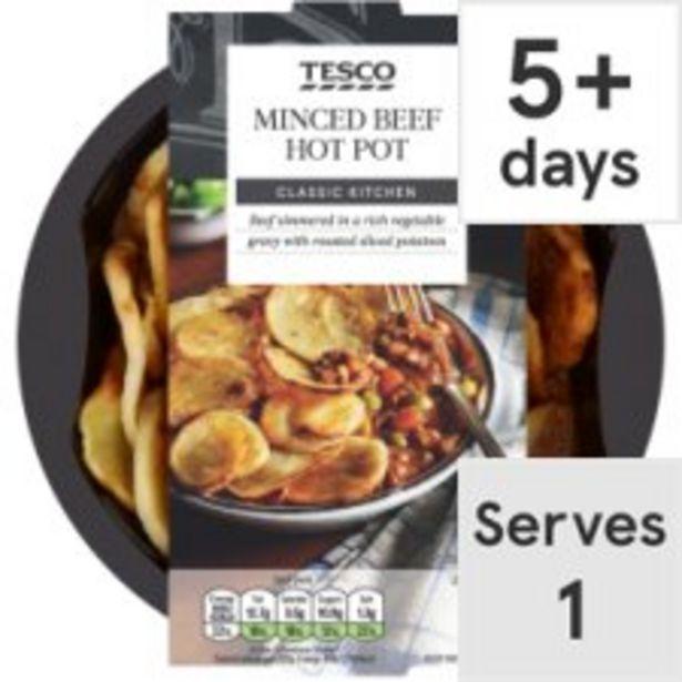 Tesco Minced Beef Hotpot 450G offer at £2.5