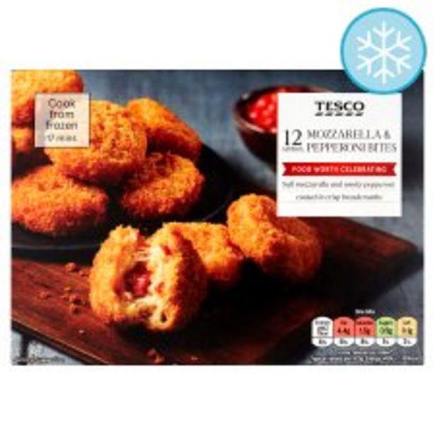 Tesco Mozzarella & Pepperoni Bites 264G offer at £2