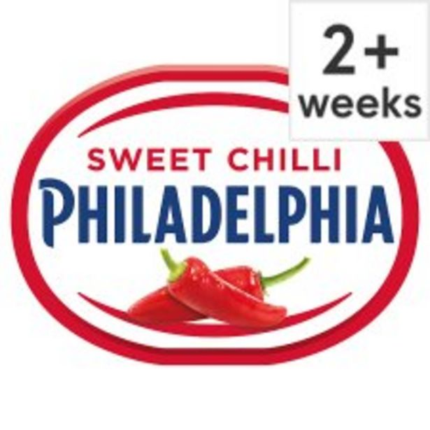 Philadelphia Soft Cheese With Sweet Chilli 170 G offer at £1
