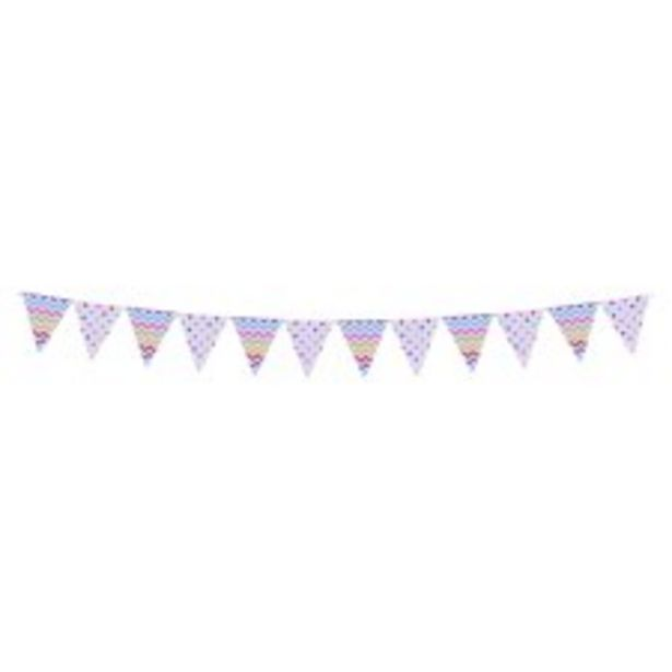 Spots & Chevrons Paper Bunting offer at £1.5
