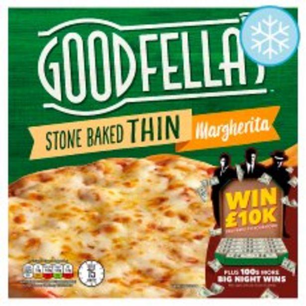 Goodfella's Stonebaked Thin Margherita Pizza 345G offer at £1.55