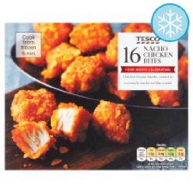 Tesco 16 Nacho Chicken Bites 200G offer at £2