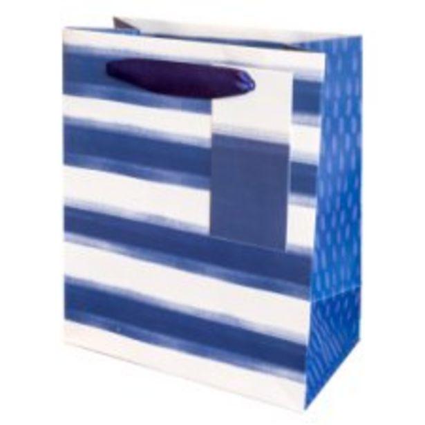 Tesco Santorini Stripe Bag Small offer at £1