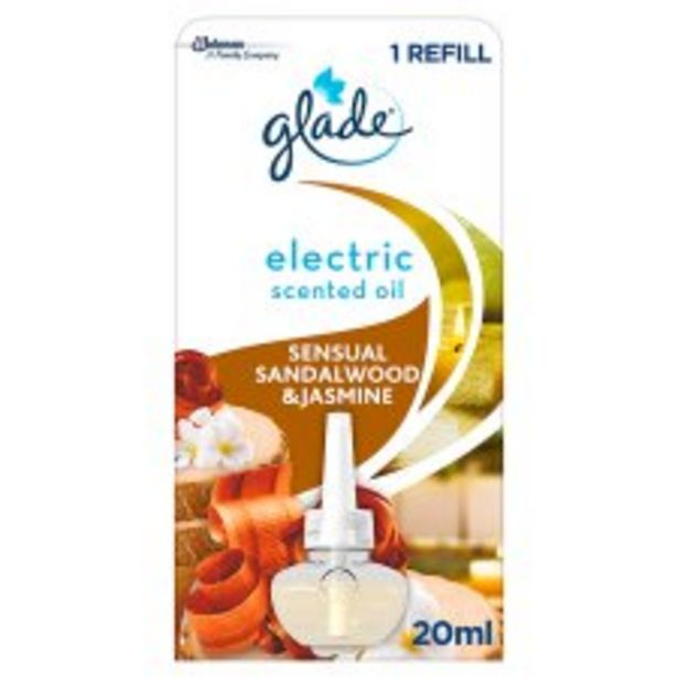 Glade Air Freshener Sandlewood & Jasmine 20Ml offer at £3.5