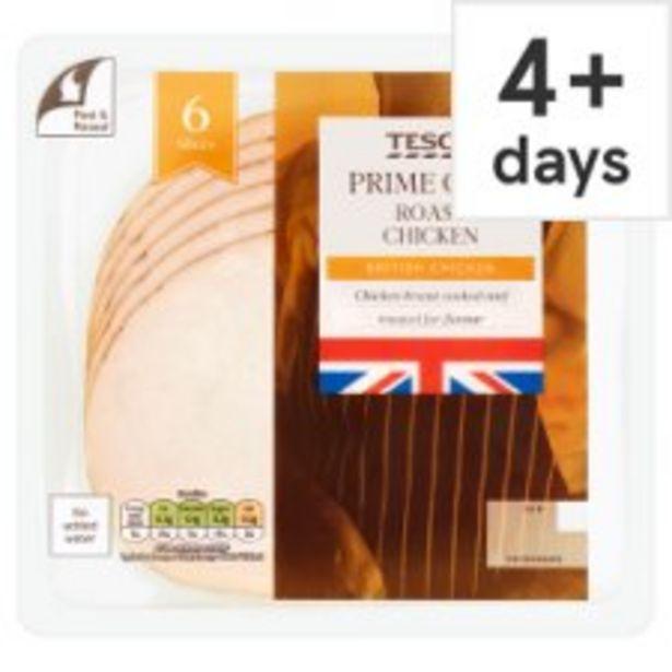 Tesco British Roast Chicken Slices 125 G offer at £2