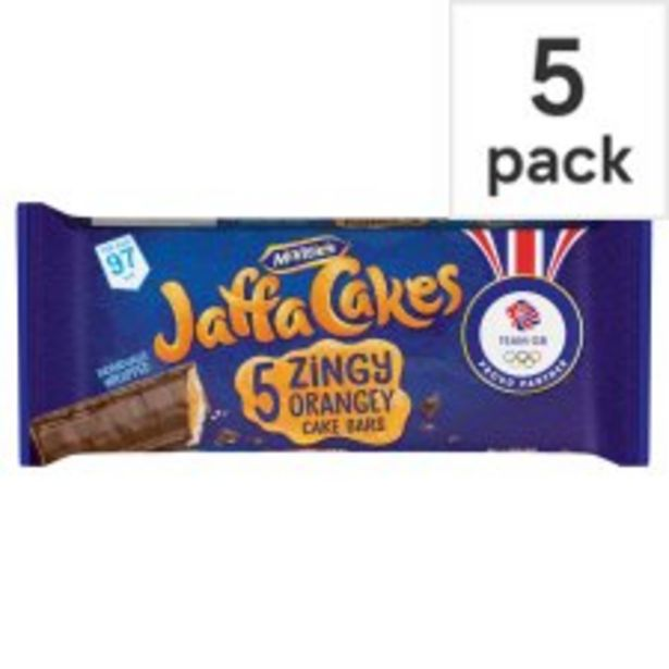 Mcvities Jaffa Cake Bars 5 Pack offer at £1.25