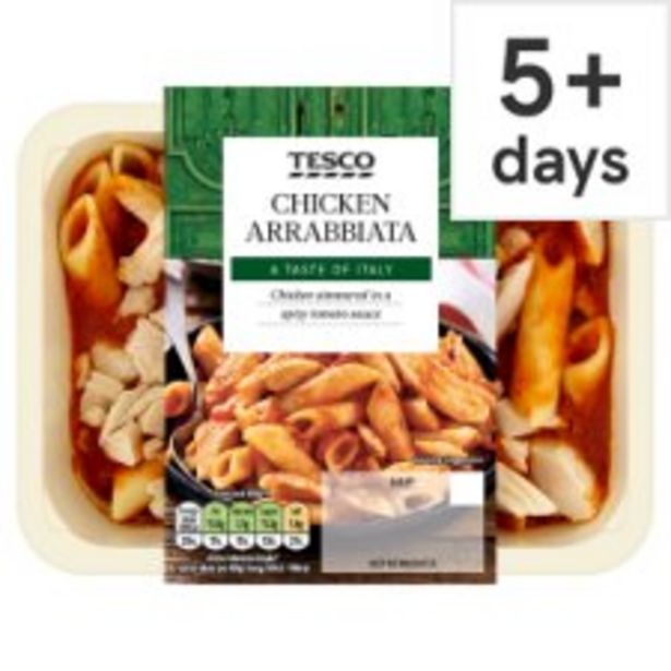 Tesco Chicken Arrabbiata 450G offer at £2.5