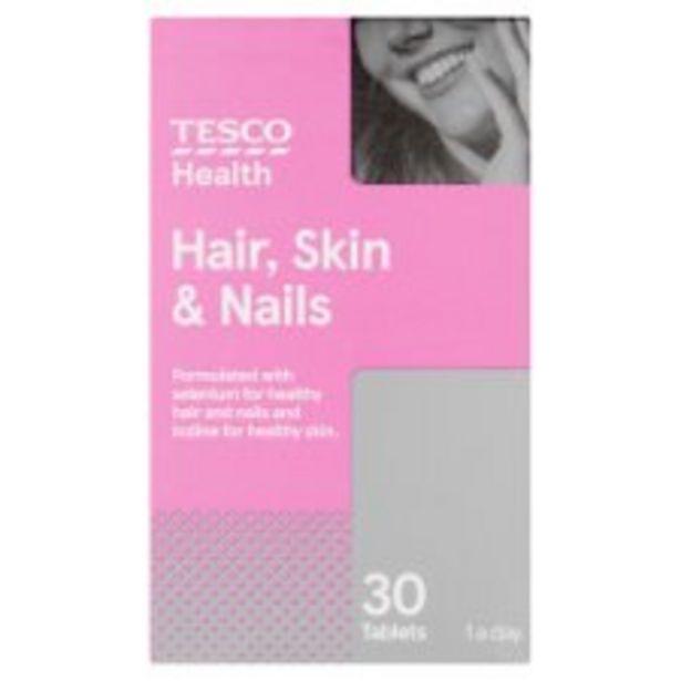 Tesco Hair Skin Nails X 30 offer at £3