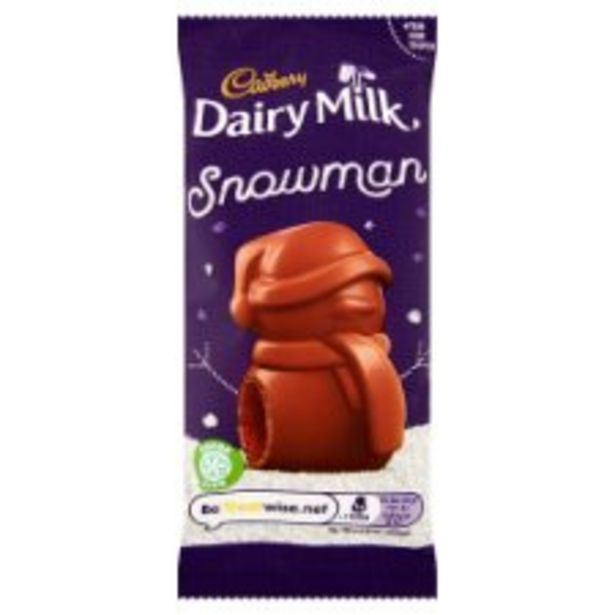 Cadbury Chocolate Mousse Snowman 30G offer at £0.6