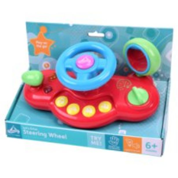 Carousel Lets Drive Steering Wheel offer at £8