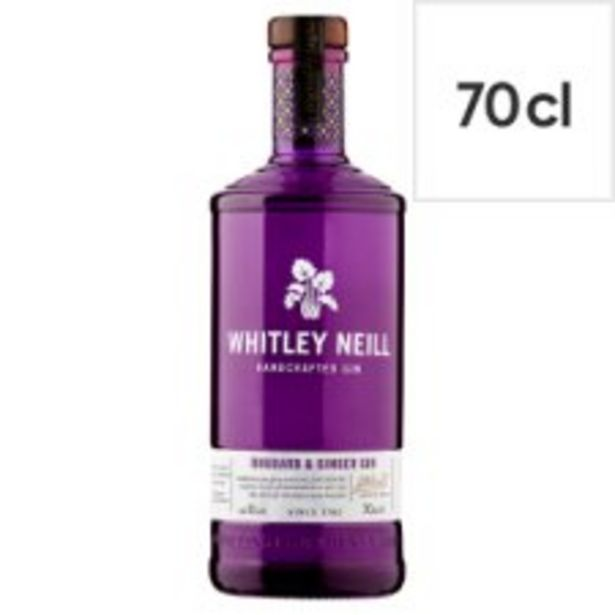 Whitley Neill Rhubarb Ginger Gin 70Cl offer at £20