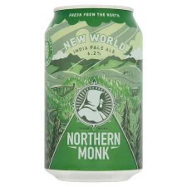 Northern Monk New World Ipa 330Ml offer at £1.8