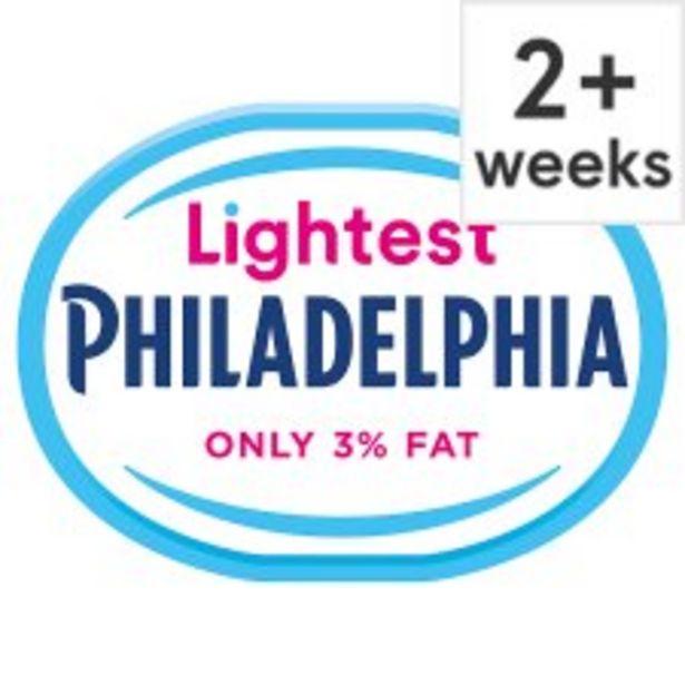 Philadelphia Lightest Soft Cheese 180 G offer at £1
