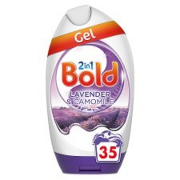 Bold 2 In 1 Gel Lavender & Camomile 35 Washes 1295Ml offer at £5