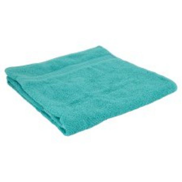 Tesco Simple Value Bath Sheet Pale Aqua offer at £3.5