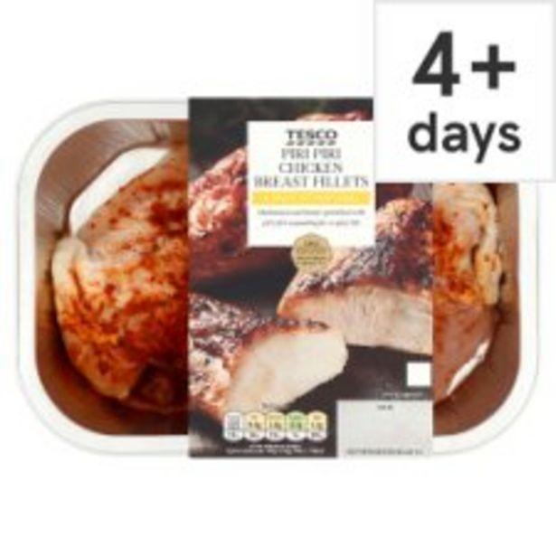 Tesco Piri Piri Chicken Breast Fillets 365G offer at £3.75