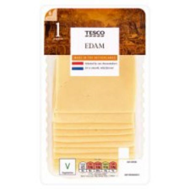 Tesco Edam Slices 250G offer at £1.7