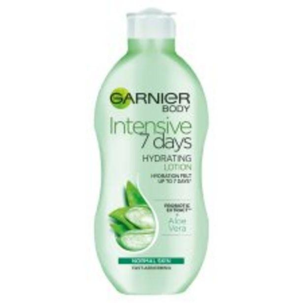 Garnier Body Intensive 7 Day Aloe Vera Hydrating Lotion 400Ml offer at £3