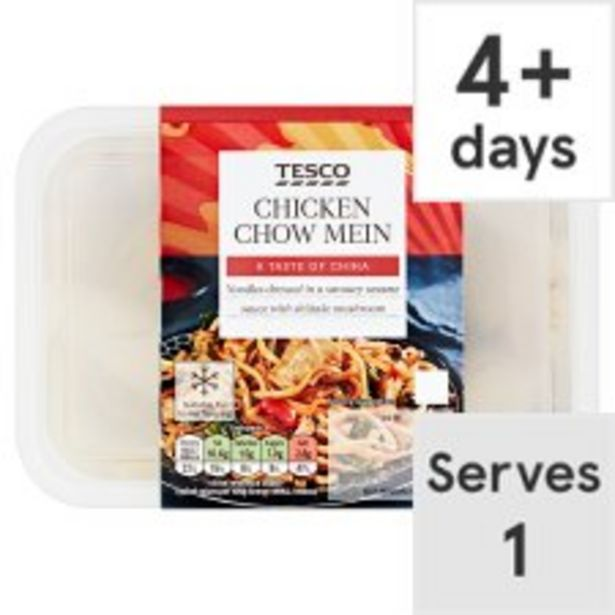 Tesco Chicken Chow Mein 400G offer at £2.5