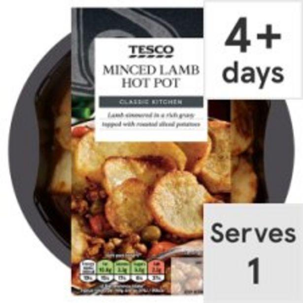 Tesco Minced Lamb Hotpot 450G offer at £2.5