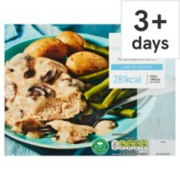 Tesco Chicken In Mushroom Sauce 370G offer at £2.5